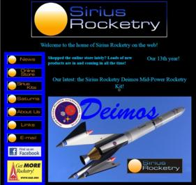 Enter the Sirius Rocketry Informational Site Now!